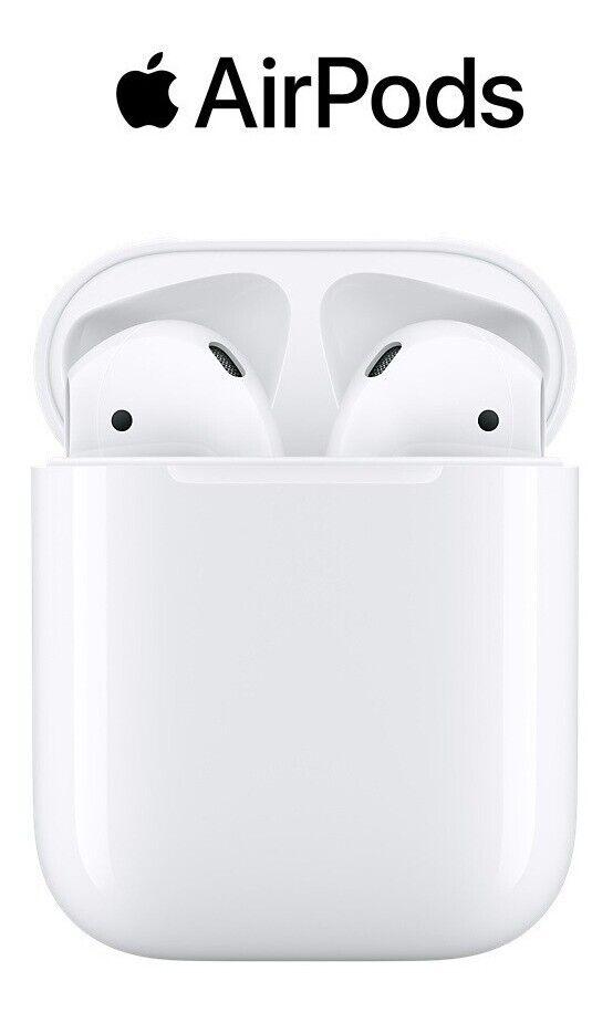AirPods Apple auriculares originales de segunda generación con estuche de carga