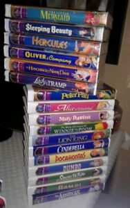 DISNEY MOVIES - VHS COLLECTOR ITEMS !!!