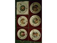 Royal Doulton Christmas Carol Plates