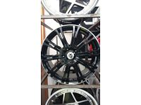 """Wolfrace Vermont genuine load rated Range rover/ Volks Transporter 20"""""""