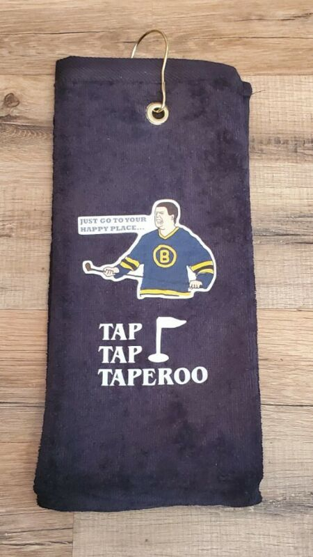 Happy Gilmore Golf Trifolded Bag Towel 16x26