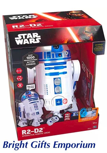 Star Wars 10225 R2D2 Interactive Robot RC Remote Control U Command SYD Stock NEW