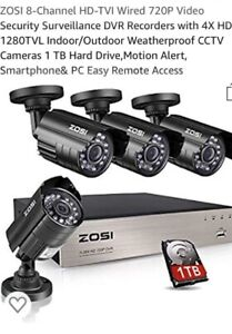 Brand new security camera system