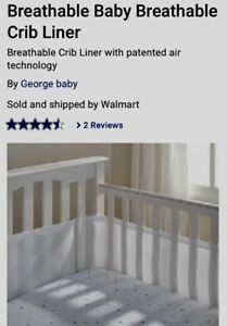 BUMPER PAD FOR CRIB (& free outlet plugs!)