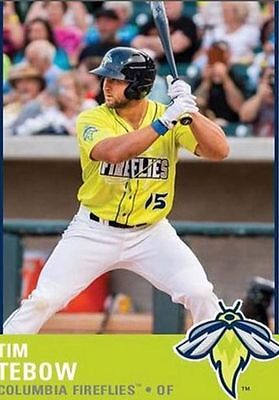 2017 Columbia Fireflies Sealed Team Set   Tim Tebow   Free Shipping   Quantity