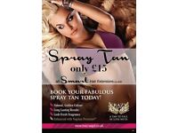 Salon Spray Tanning £15 & Bouncy Blow Drys £20 in Hassocks