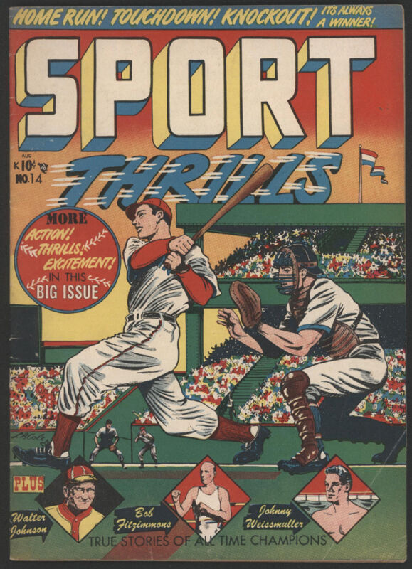 SPORT Thrills #15, 1951, Star Publications