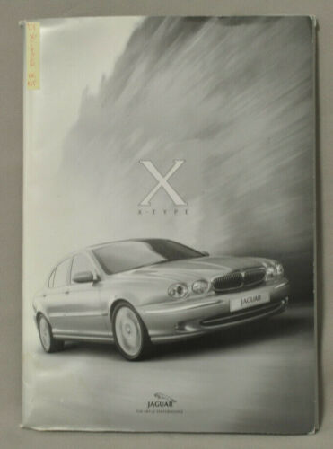Jaguar 2001 X-Type UK Media Kit with 2 CDs, Pictures  & more