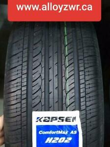4 New Summer tires Kapsen 205/45r16  /  4 Pneus dete neufs Kapsen 205/45/16   7 DAYS OPEN!   1CONSK19