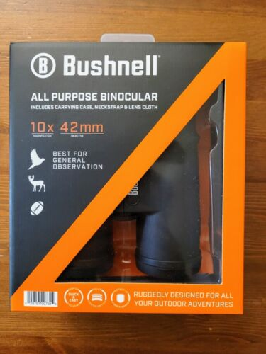 Brand NEW & SEALED!!! Bushnell 10x42 Roof Prism All-Purpose Binocular