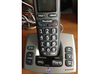 BT Freestyle Home Telephone and Answer Machine