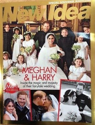 MEGHAN MARKLE & PRINCE HARRY ROYAL WEDDING SPECIAL SOUVENIR NEW IDEA (NEW) - Wedding Souvenirs Ideas