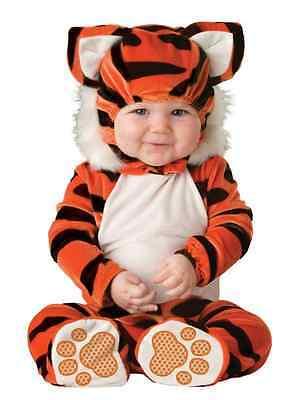 Unisex-baby Newborn Tiger Costume - Orange/Black/White - 6-12 month