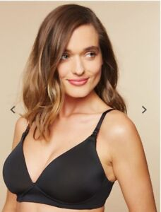 Motherhood Maternity Nursing Bra Black 34 D & Medela med