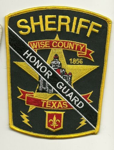 Honor Guard Wise County Sheriff State TExas TX