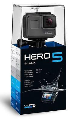 GoPro HERO5 HERO 5 Black 4K Action Video Camera CHDHX-501 TouchScreen Display