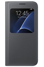 SAMSUNG Galaxy S7 Edge RRP£399 & Edge Clear View Case - Black RRP34.99-unlocked boxed with VR RRP£90