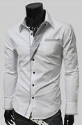 Mens Slim Fit Dress Shirts