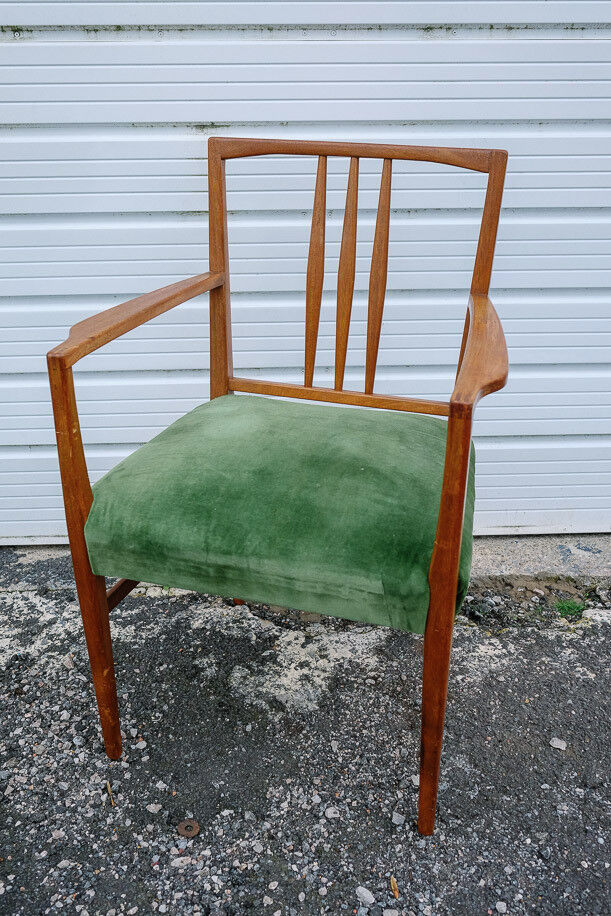 Reupholster Rocking Chair Mid Century