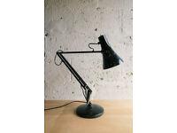 VINTAGE RETRO MID CENTURY BLACK ANGLEPOISE 90 DESK LAMP