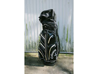CALLAWAY AQUA DRY BLACK GOLF BAG