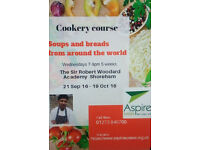 Cookery Course SOUPS & BREADS FROM AROUND THE WORLD