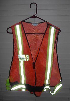 Conrail - 1990's - Rare & Official Railroad Reflective Safety - Traffic Vest