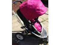 Mothercare Xpedior 3 in 1 pushchair
