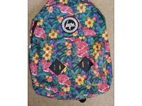 HYPE Backpack Rucksack Floral Pattern Brand New With Tags+ Packing RRP £25