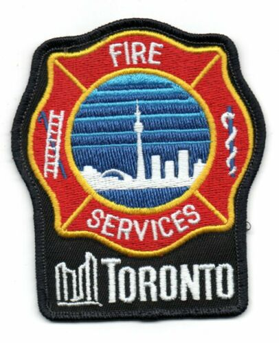 TORONTO Canada FIRE Services Patch