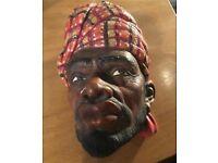 Vintage clay Mask