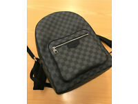 Louis Vuitton josh back pack bag in graphite damier 100% authentic RRP£1200 Comes with dust bag