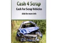 All cars scrap vans bought for cash