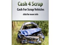 I will buy your scrap car call now for an instant quote