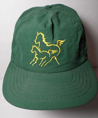 Vintage 1990s FORT DODGE Quest Gel ANIMAL HEALTH ADVERTISING Snapback Hat Cap Fort Dodge Animal