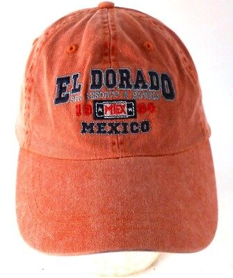 El Dorado Spa Resorts Hotels Mexico 1984 Strapback Adjustable Cap Hat