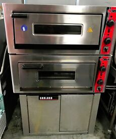 SGS 2XPIZZA OVEN/ ELECTRIC PIZZA OVEN WITH STAND