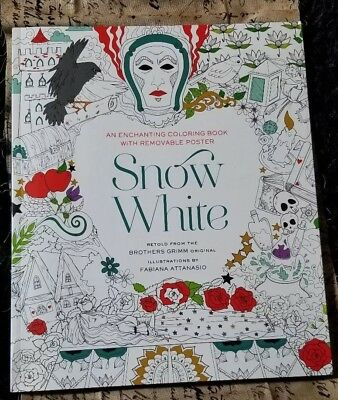 Snow White Coloring Book (Snow White Coloring Book by Fabiana Attanasio (2016,)