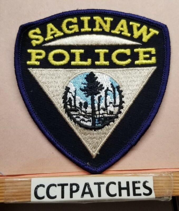 SAGINAW, MICHIGAN POLICE SHOULDER PATCH MI