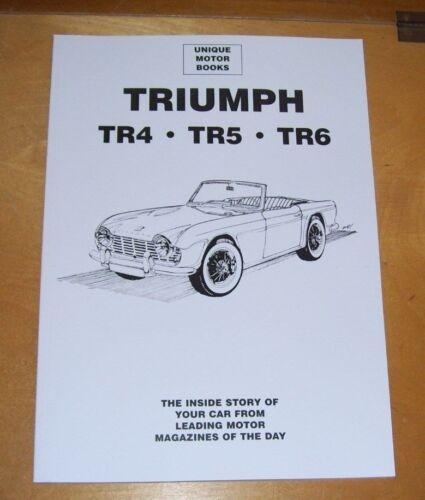 TRIUMPH+TR4+TR4A+TR5+ROAD+TEST+REPRINTS+%2B+TR5+%26+TR6+P.I.+SERVICING+REPRINTS+BOOK