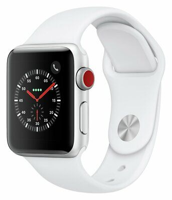 Apple Watch S3 2018 Cellular Bluetooth 16GB 38mm - S Grey/ Black Sport Band