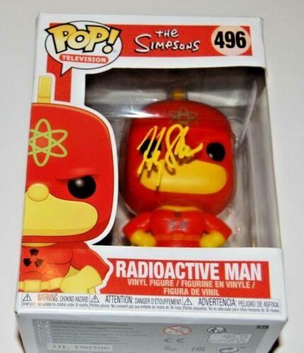 HARRY SHEARER signed (THE SIMPSONS) *Radioactive Man* Funko pop #496 W/COA