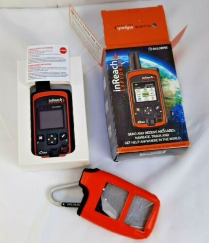 DeLorme inReach Explorer Hanheld Satellite SOS Text Communicator Navigator GPS