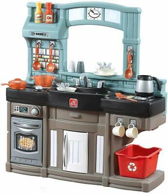 Step2 Best Chefs Kitchen Playset | Kids Play Kitchen with 25-Pc Toy