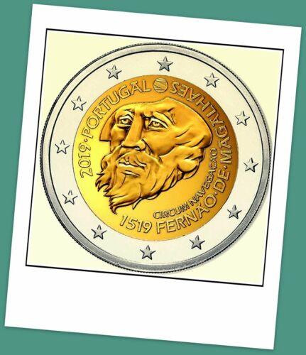 2 Euro Gedenkmünze Portugal 2019 - 500 Jahre Magellan Weltumsegelung -Vorverkauf