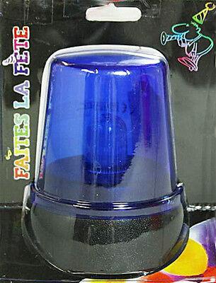 2 x Party-Blaulicht Partylicht Disco Blinklicht Blitzlicht Rundumleuchte Lampe