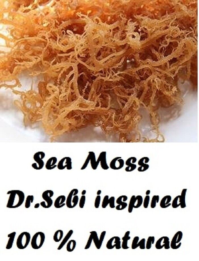 Whole Leaf Irish Moss Sea Moss 1 lb | Raw WildCrafted Superf