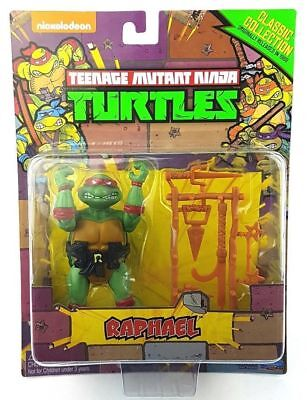 RAPHAEL Teenage Mutant Ninja Turtles TMNT Classic Collection Retro figure Mint Classic Collection Tmnt
