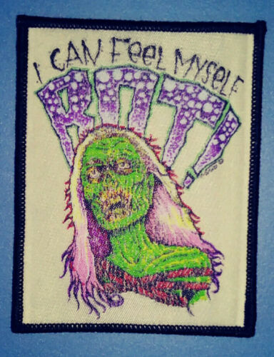 """PATCH - """"I Can Feel Myself Rot!"""" Return of the Living Dead Horror woven zombies"""