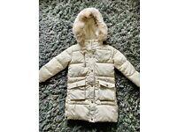 River Island girls winter jacket. BNWT